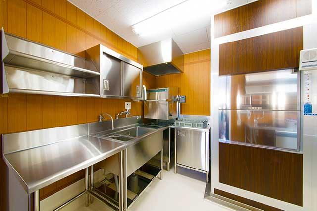 ステンレス製業務用厨房設備